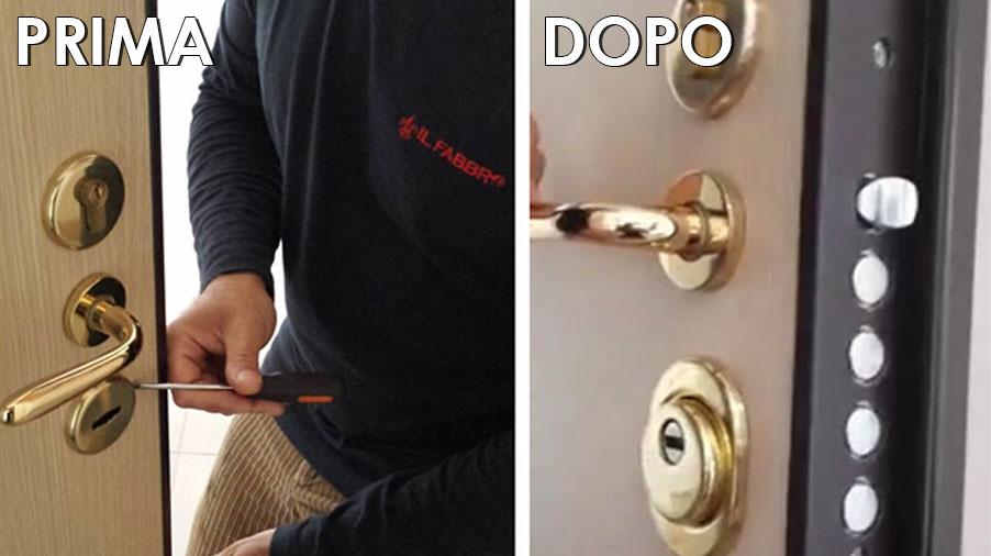 Costo cambio serratura porta blindata serratura cilindro - Cambio serratura porta ...